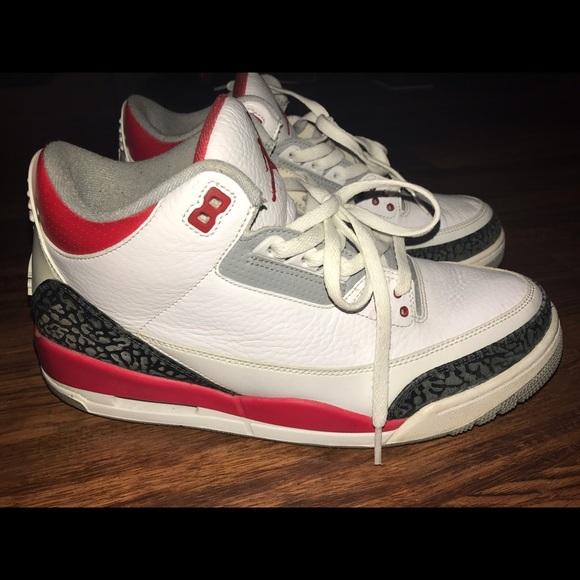 Jordan Other - 2013 AIR JORDAN 3 RETRO WHITE FIRE RED SIZE 11 dec29b5f5